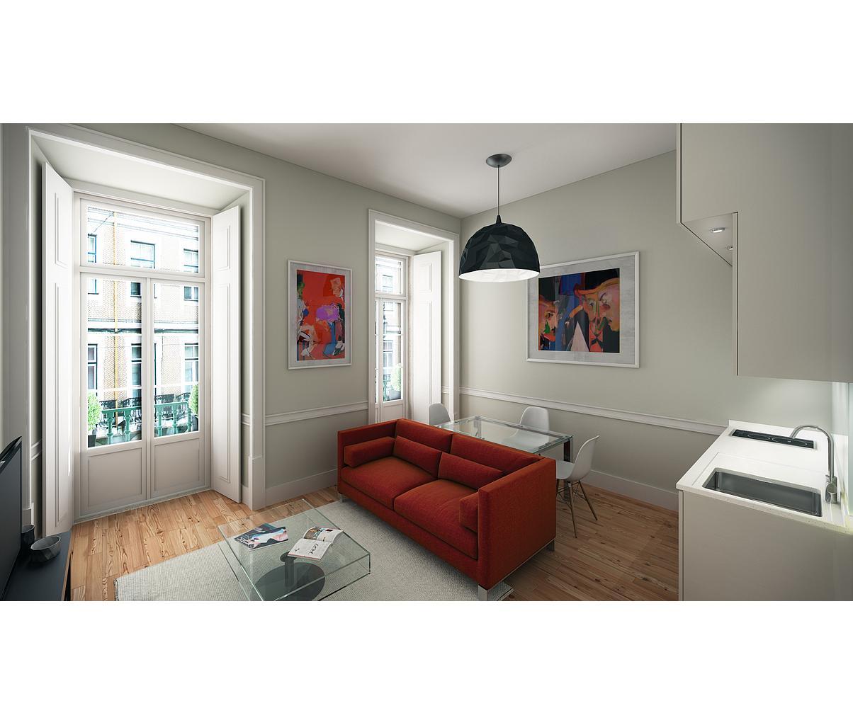 PF09445, Apartamento T1, Lisboa