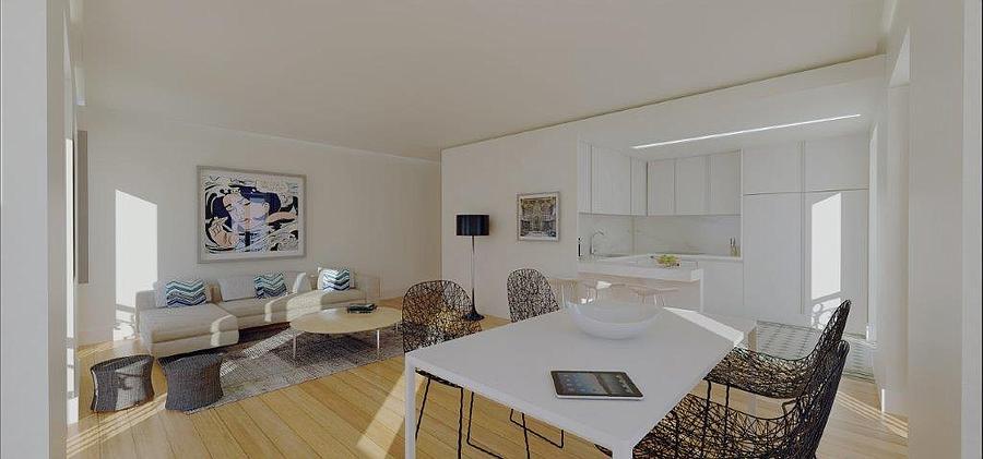 Apartamento T1+1 Graça