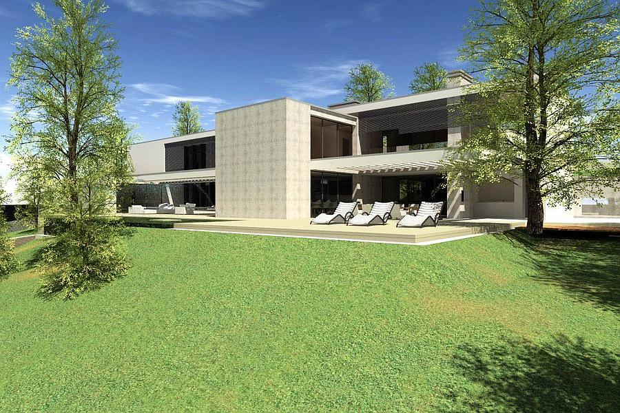 Additional photo for property listing at Modern villa under construction located in Estoril Cascais, Portugal