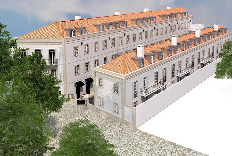 PF12697, Duplex T1 + 1, Lisboa