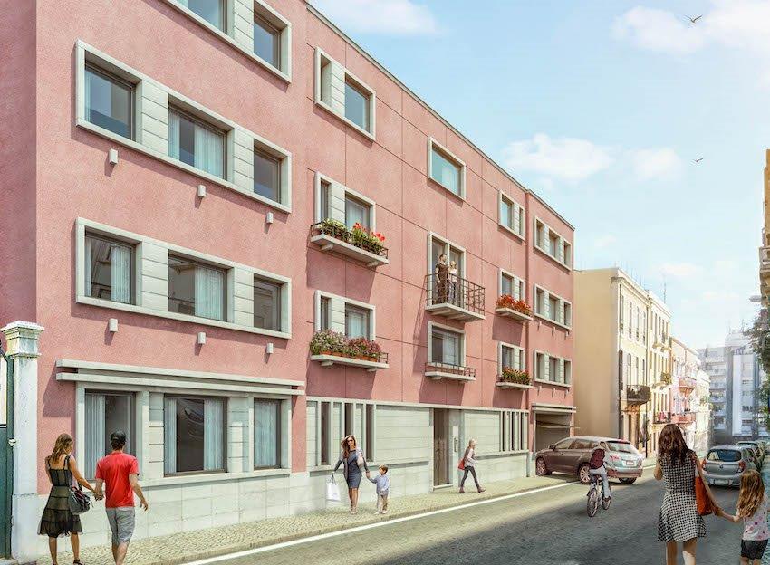 PF13458, Duplex T4 + 1, Lisboa