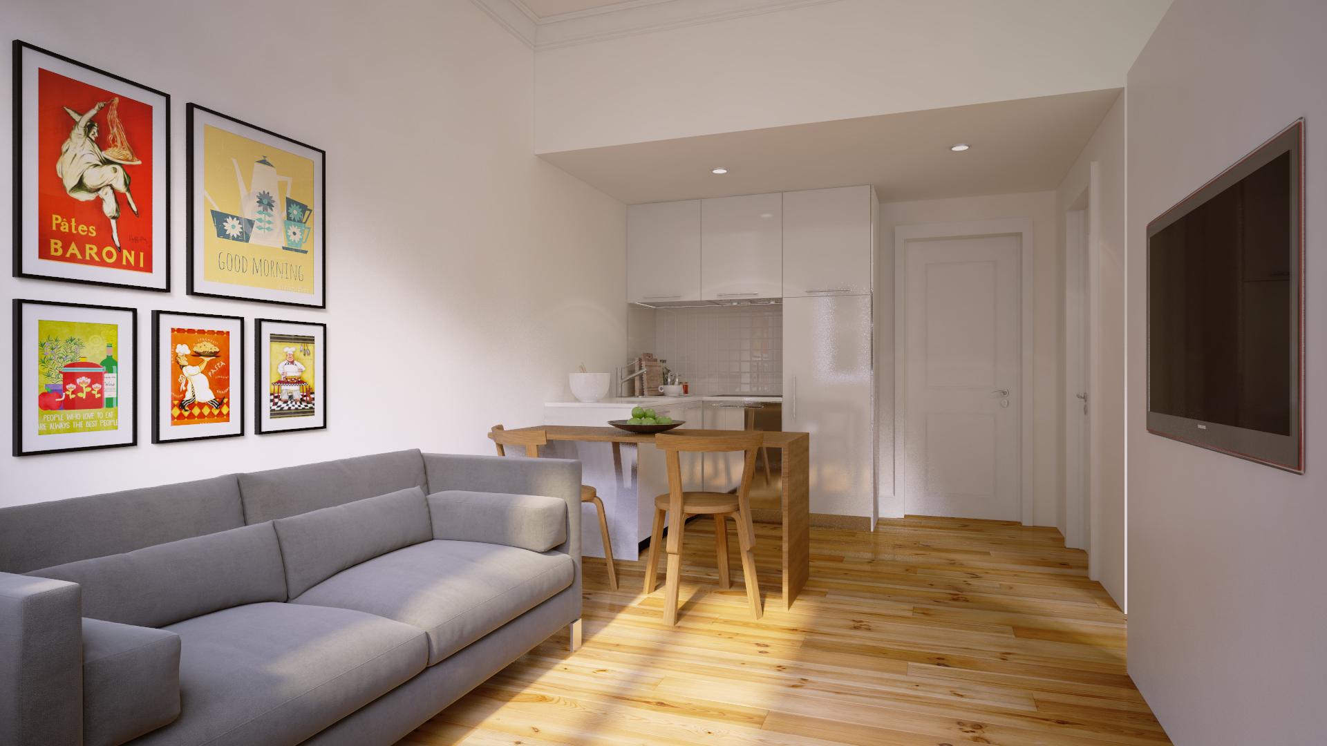 PF13483, Apartamento T0, Lisboa