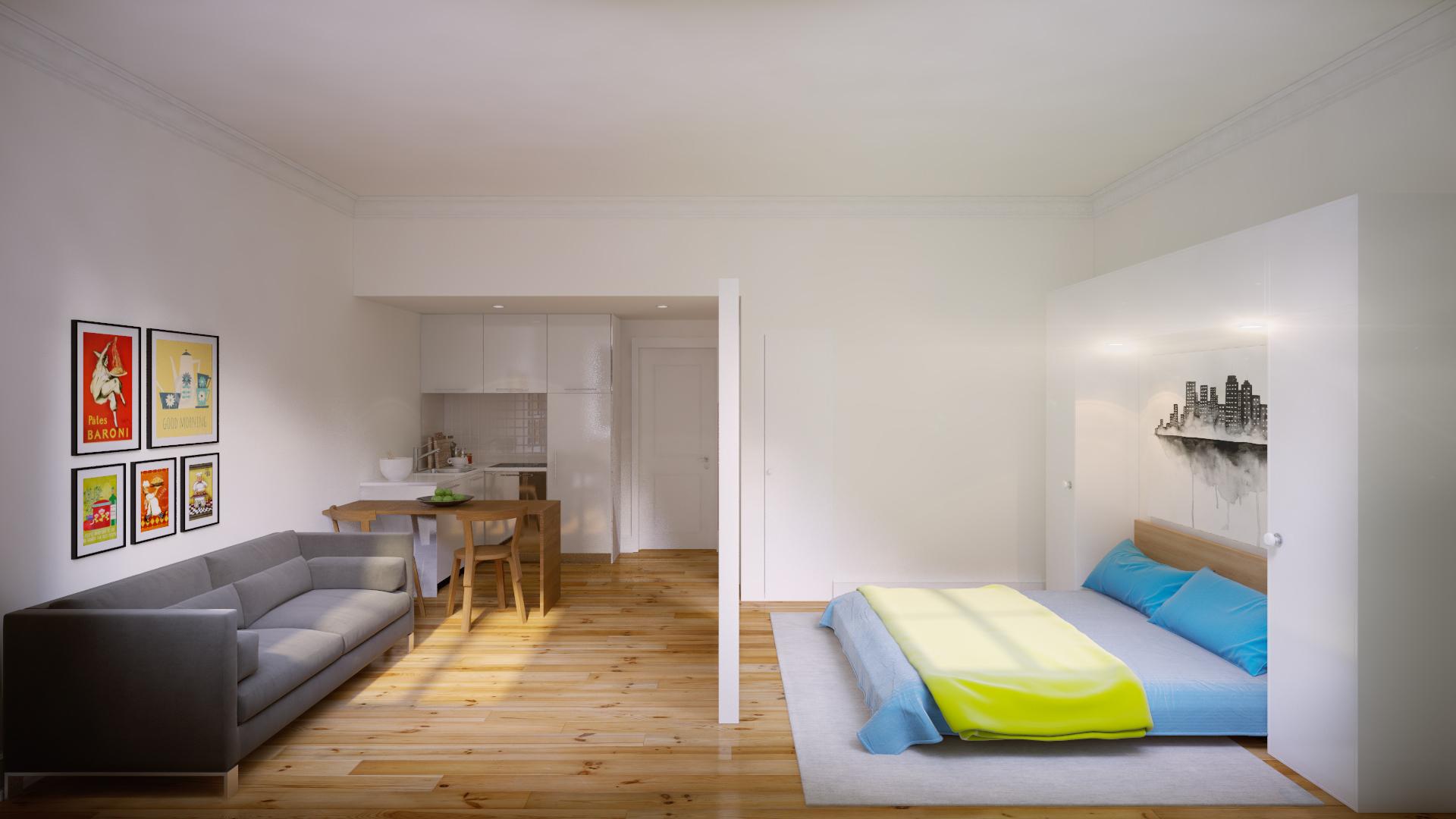PF13486, Apartamento T0, Lisboa