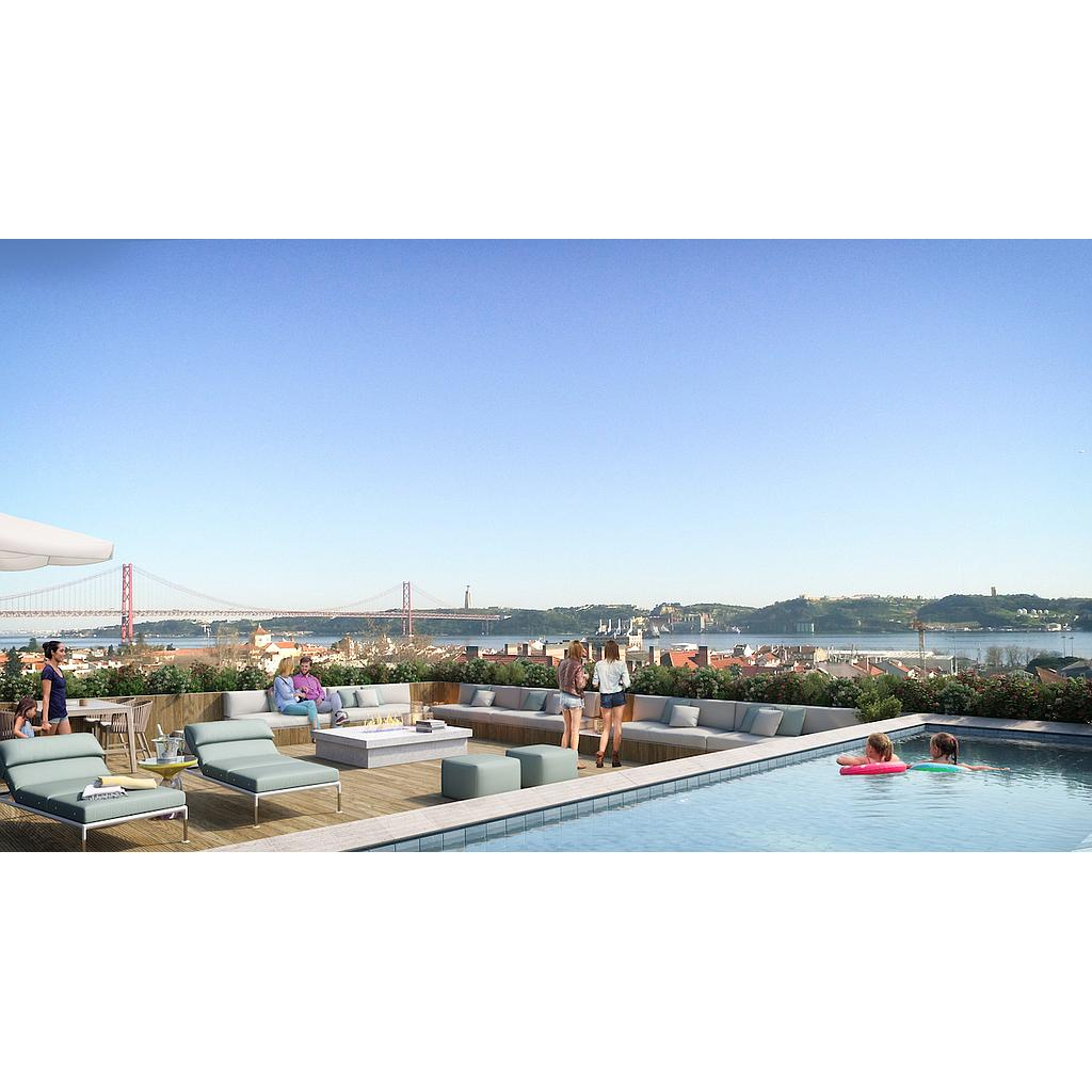 PF14255, Apartamento T1, Lisboa
