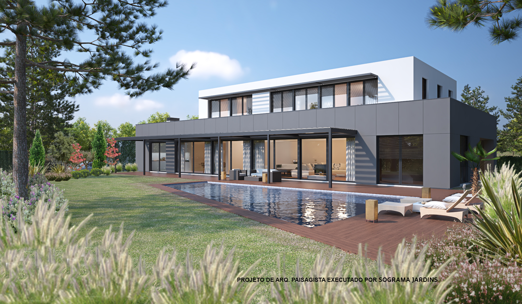 "Ville / Villette per Vendita alle ore ""Zero energy house"" with 550 Meters squared of con Cascais, Portogallo"