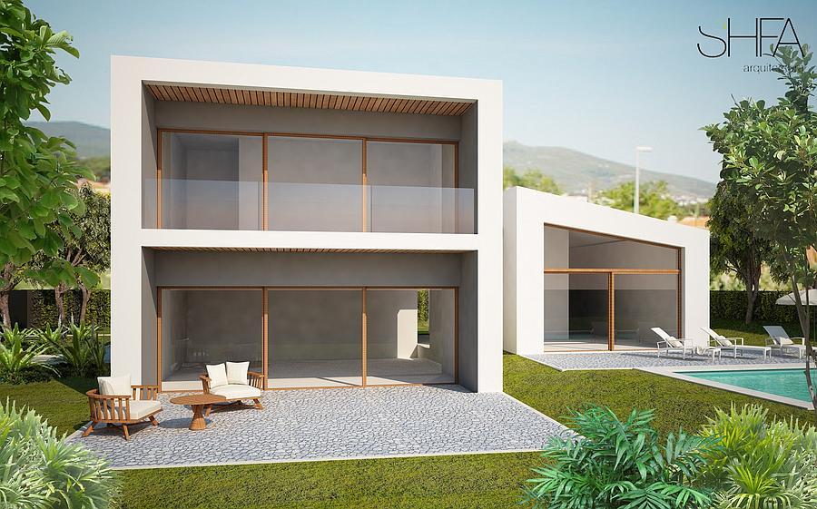 빌라 / 타운 하우스 용 매매 에 Exclusive villa under construction inserted in a p Cascais, 포르투갈