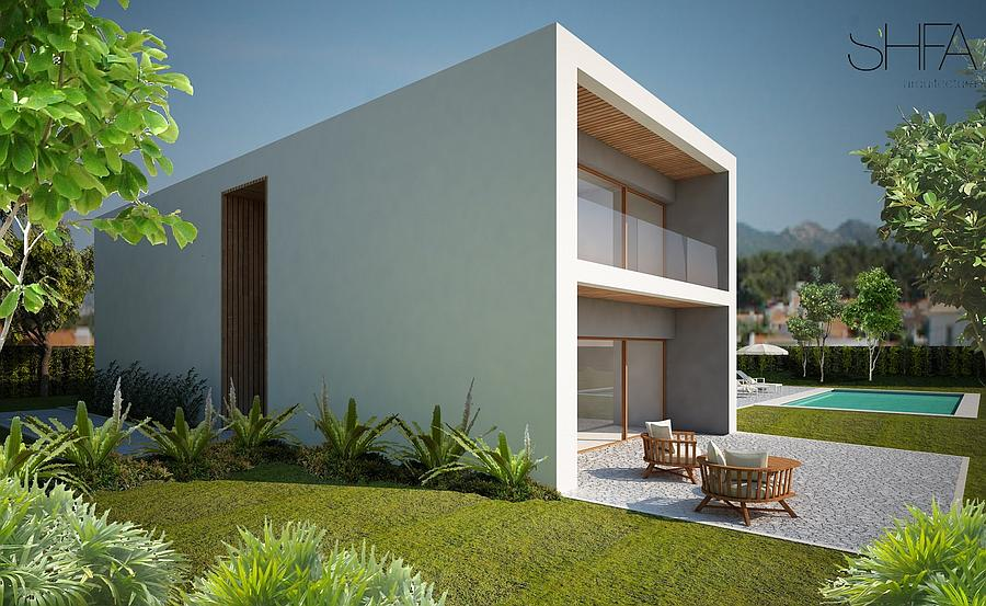 Additional photo for property listing at Exclusive villa under construction inserted in a p Cascais, 포르투갈