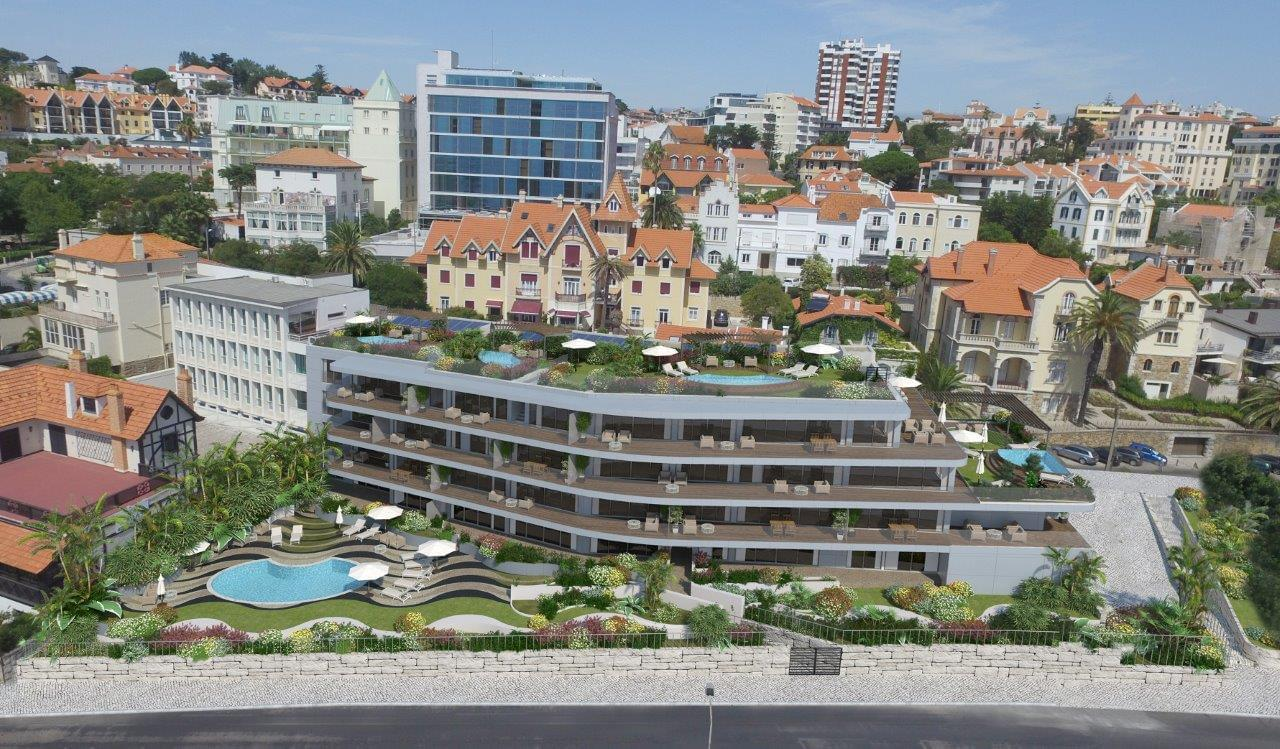 1 Bedroom Apartment In A Closed Condominium With Cascais Portugal