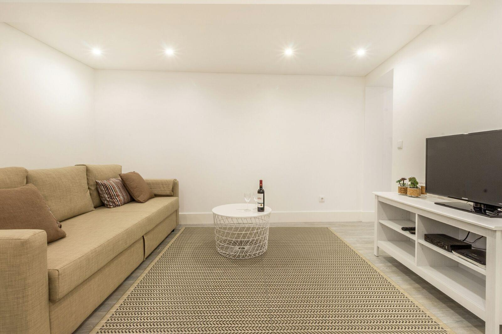 1 bedroom apartment with furniture