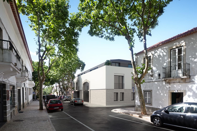 Apartamento T2 com estacionamento em condomínio fechado