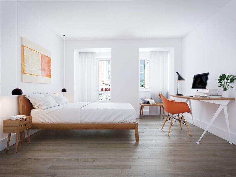 2 bedroom duplex Campo de Ourique
