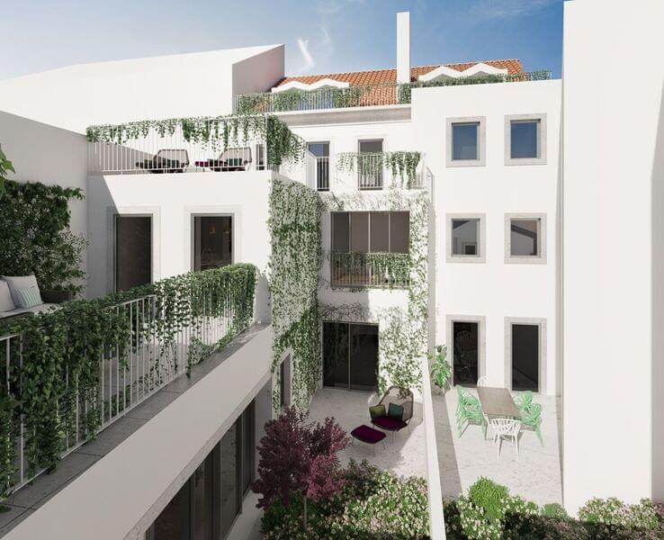 Appartement T2 duplex Campo de Ourique