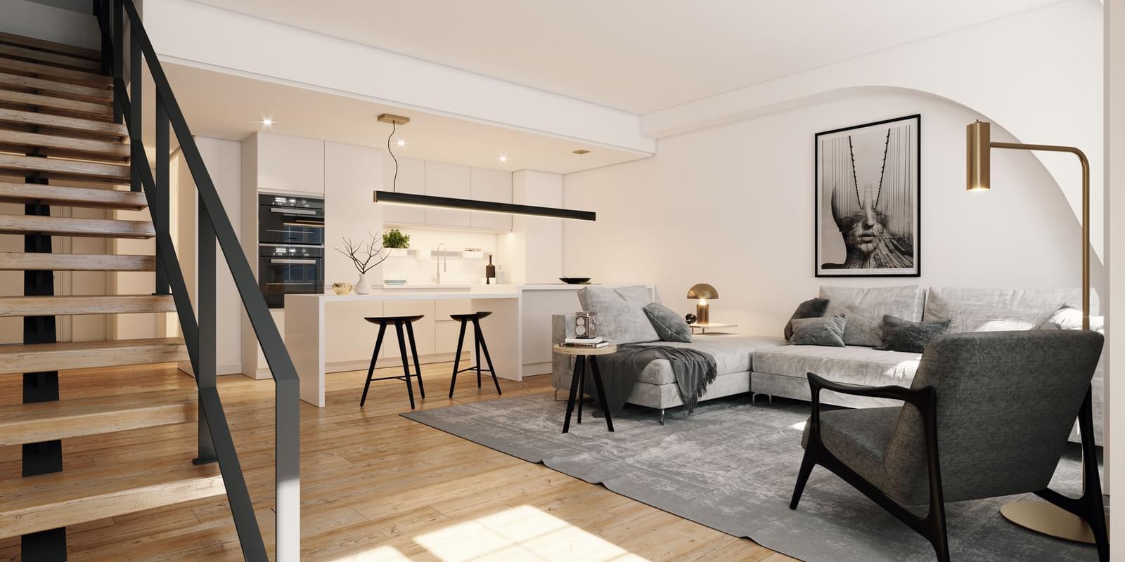 Apartamento T2 duplex Chiado