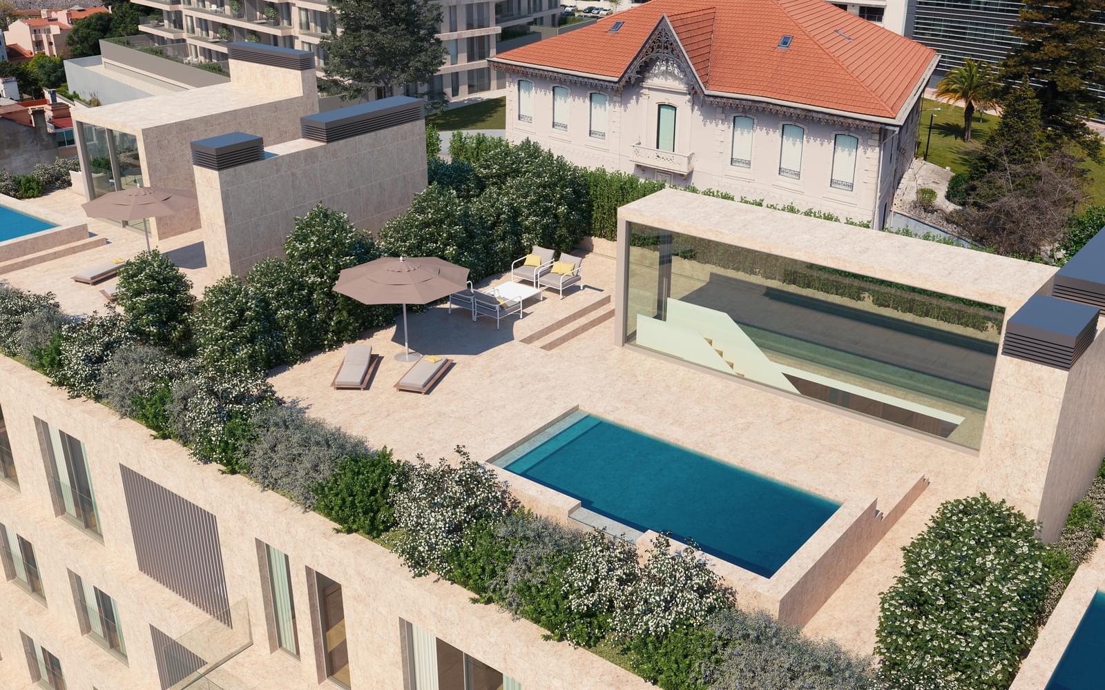 Appartement T4 avec piscine