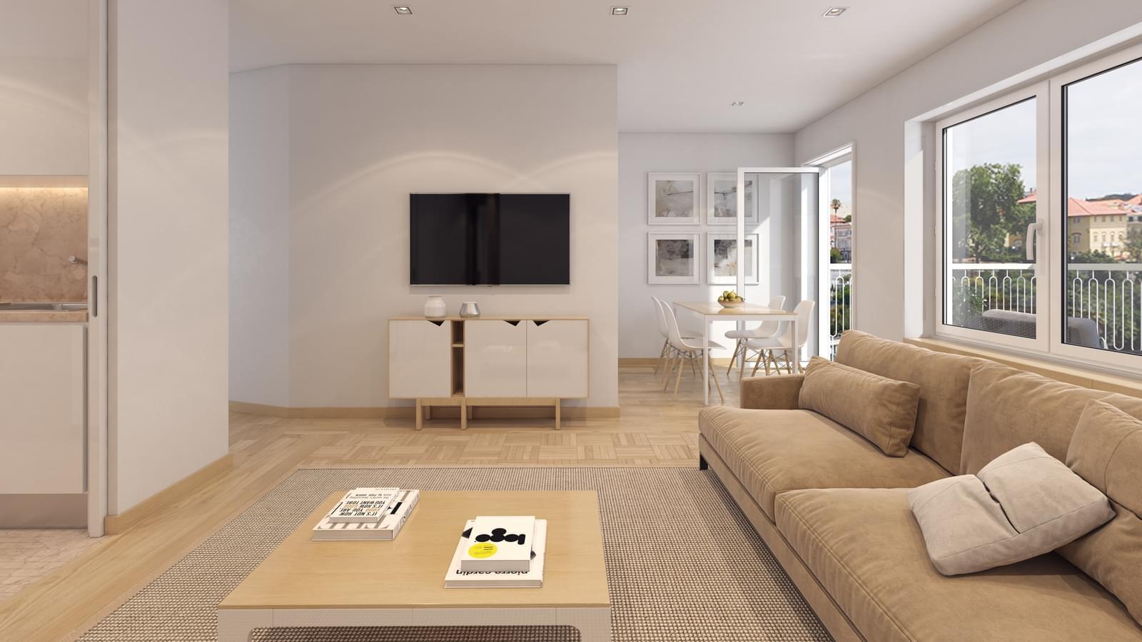 2 bedroom apartment Príncipe Real