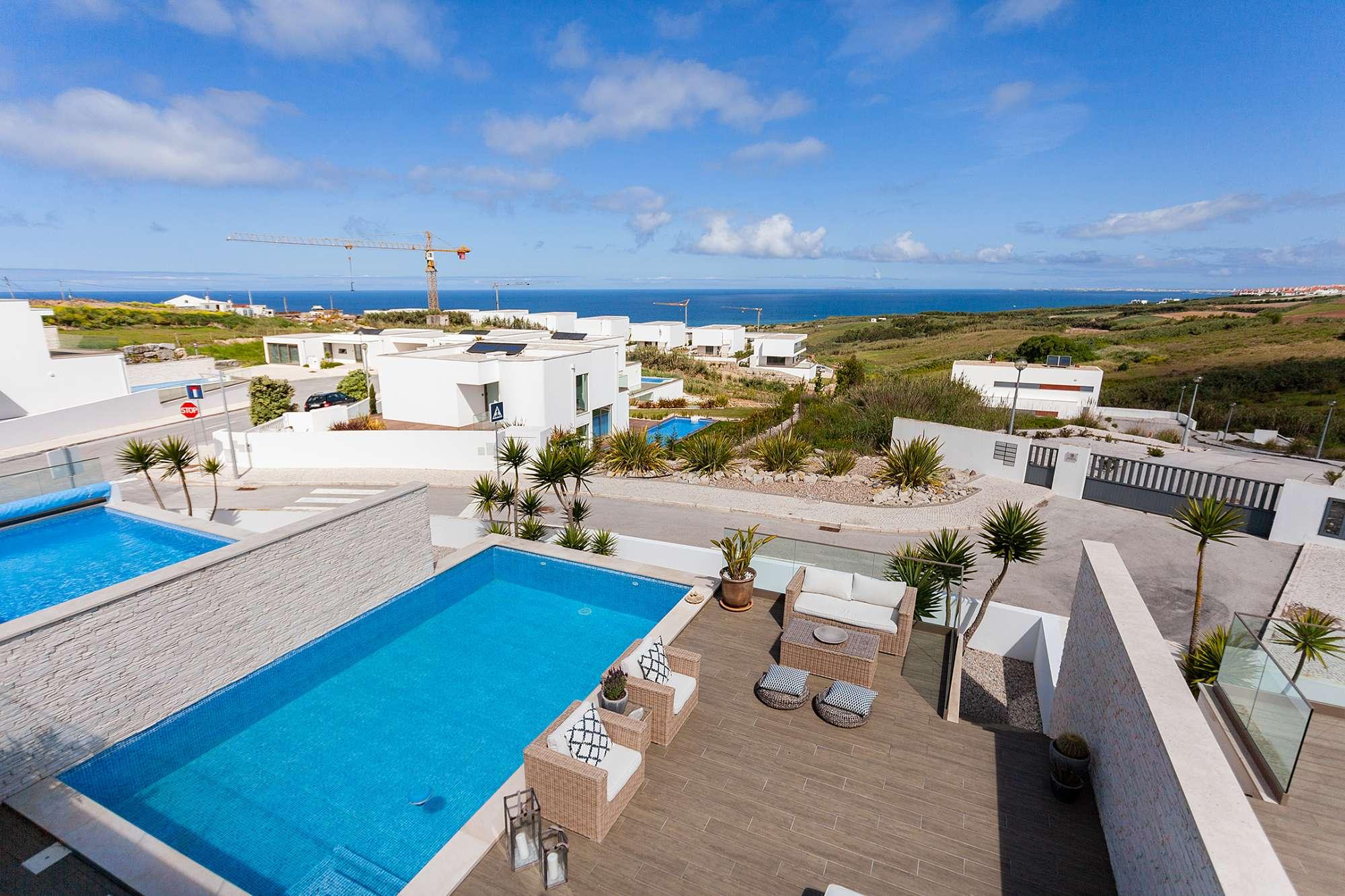 Moradia de luxo com piscina privativa a 1km da Praia